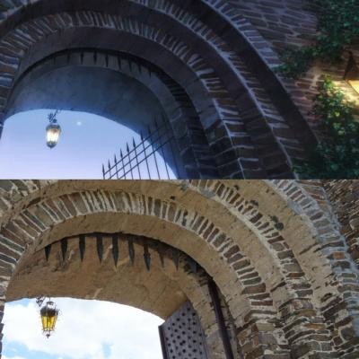 Cochem Castle - Outer Gate