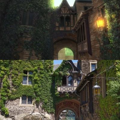 Cochem Castle - Inner Gate