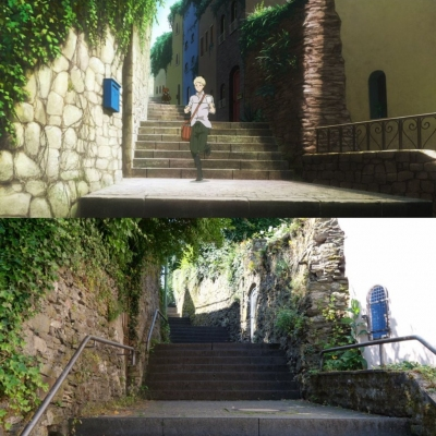 Cochem - Staircases