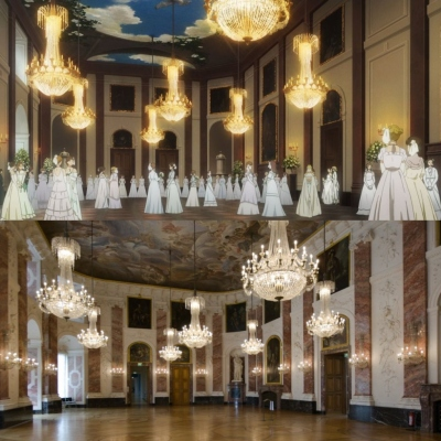 Mannheim Baroque Palace (Knights hall)