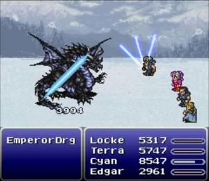 Damage Final Fantasy