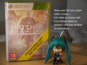 Miku Hatsune The Witcher 2 DVD Cover