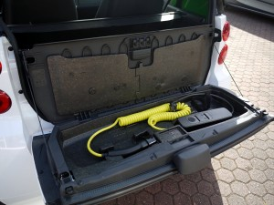 Ladegerät smart electric drive