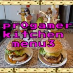 pr0gamer kitchen – menu3 – Yakisoba Burger