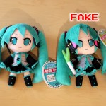 Fake Miku Hatsune Nendoroid Plus Plushies