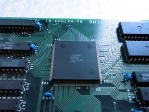 Toaplan Chip auf einer Batrider PCB