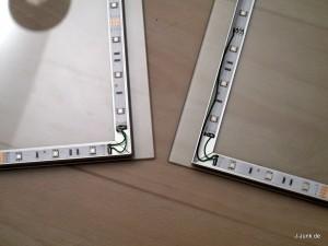 Verbinden der LED-Stripes