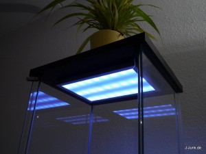 LED Lampe in der Decke