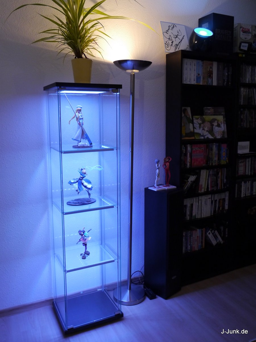 Ikea Perfekt Eckregal Weiss ~ IKEA Detolf mit LEDs – Wireless Ultimate Version – J Junk  Anime
