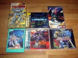 Hier ein paar Mecha Games aus Marcos Sammlung  (๑✧◡✧๑)
