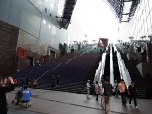 LED Treppe am Bahnhof Kyoto