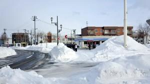 Ja in Hokkaido wars kalt - Letzter LAWSON vorm Ende der Zivilisation ^_^